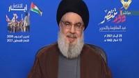Seyyid Hasan Nasrallah'ın Konuşmasından Kesitler