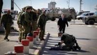 Batı Şeria'da bir Filistin'li şehit düştü