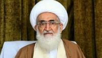 Ayetullah Nuri Hemedani: Siyonist rejim son nefeslerini alıyor