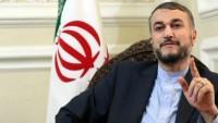 Emir Abdullahiyan: İran, Filistin halkını güçlü bir şekilde destekliyor