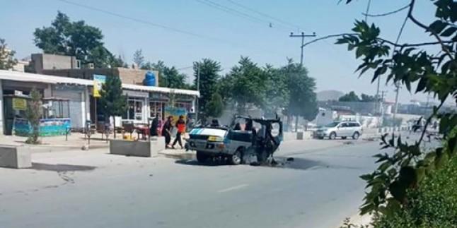 Kabil'de patlama; 4 ölü, 4 yaralı
