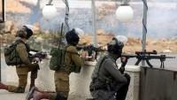 İşgal kuvvetlerinden çocuk parkına baskın: Birisi tutuklandı