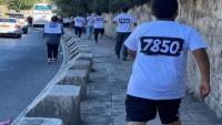Siyonist askerler Kudüs'te maratonculara saldırdı