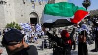 "Siyonist İsrail polisi, ""Bayrak Yürüyüşü""nü iptal etti"