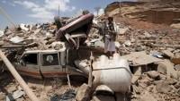 Suudi savaş uçakları yine Yemen halkını bombaladı