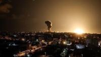 Irkçı İsrail'den Gazze Şeridi'ne hava saldırısı