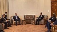 Beşar Esad, İran'ın Suriye'ye verdiği desteği takdir etti