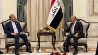 İran Dışişleri Bakanı'nın Bağdat'taki görüşmeleri