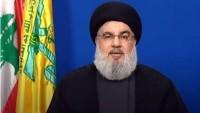 Nasrullah'tan Lübnan Şiiler yüksek İslami meclisi başkanının vefatı münasebetiyle taziye mesajı