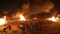 """Gazze """"öfke"""" gösterilerinde 16 şehit ve yaralı"""