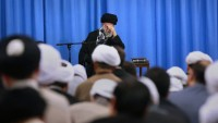 Foto: İmam Hamanei'nin huzurunda İmam Musa Kazım'ın (as) matem merasimi düzenlendi