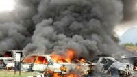 Bingazi'de bombalı saldırı: En az 23 ölü