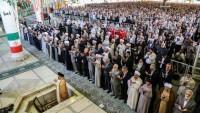 Tahran'da Kurban Bayramı Namazı