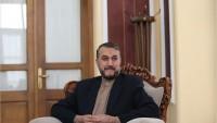 Emir Abdullahiyan: Suriye'deki ateşkes kararına destek verilmeli