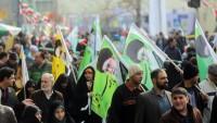 On milyonlarca İranlı, İslam İnkılabı'nın 38. yıldönümünü coşkuyla kutladı