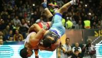 İran Asya'da serbes güreş şampiyonu oldu