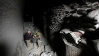 DEAŞ'ın yeraltı kampı