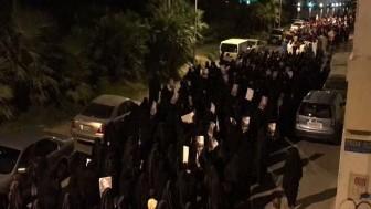 Bahreyn Halkı Al Halife rejimi karşıtı protesto gösterisi düzenledi