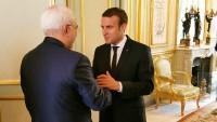İran Dışişleri Bakanı Zarif, Emmanuel Macron'la görüştü