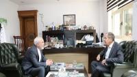 Zarif ile Lavrov arasında ikili görüşme yapıldı