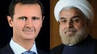 Hasan Ruhani ve Beşar Esad telefonda görüştü