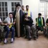 Mazlum ve Mustazafların Rehberi Hizbullah gazilerini kabul etti