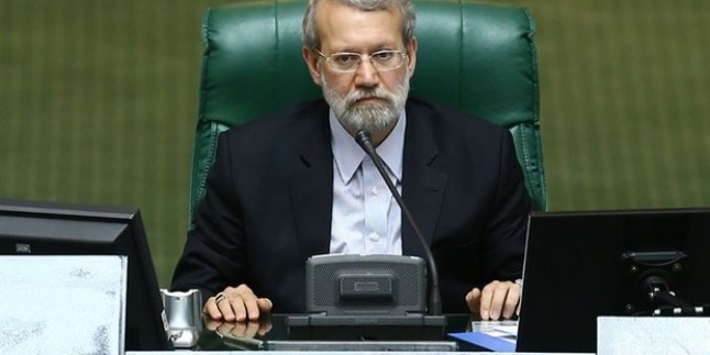 Laricani: İran halkı ABD'ye taviz vermeyecek