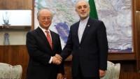 Salihi ve Amano, Tahran'da görüştü