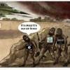 Karikatür: Tekfirci Teröristler, Siyonist İsrail'in Bölgedeki Kiralık Askerleridir.