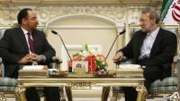 Laricani: İran ve Afganistan'ın işbirliği için iyi potansiyeller mevcuttur