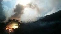 Gazze'yi Bombalayan İsrail'e ait F-16 düştü