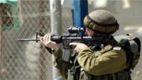 İşgal askerleri yine Filistinlilere saldırdı