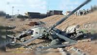 Cezayir'de askeri helikopterin, teknik arıza nedeniyle düşmesi sonucu 12 asker öldü