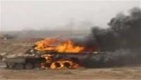 Yemen Hizbullahı Suudilere ağır darbe vurdu : 29 tank ve zırhlı aracı imha edildi