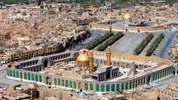 Kerbela'da görkemli Arefe günü duası