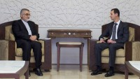Beşşar Esad ile İran heyeti görüştü