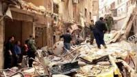 Teröristlerden Halep'e saldırı