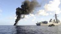 Yemen Hizbullahı'ndan Suud rejimine Bayram Hediyesi: Suud Rejiminin Bir Savaş gemisi Daha Vuruldu