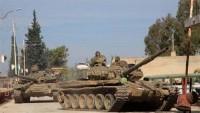 Suriye birlikleri, ülkede güvenlik ve istikrar için çalışıyor