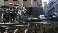 Halep'in batısında bir kasaba terör örgütünden alındı