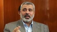 Heniye, Gazze kuşatılmasının sürmesi konusunda siyonist İsrail'i uyardı