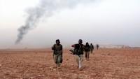 Teröristler, Şam'ın güneyinden çekiliyor