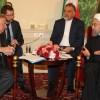Ruhani, Fransa senato meclisi başkanı ile görüştü