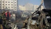 Şam'da bombalı araçla saldırı: Yaralılar var