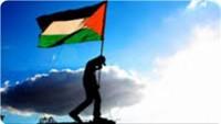 Filistin bayrağı Washington'un en yüksek dağında göndere çekildi