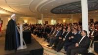 Ruhani: İranlılar her zaman insanlığın hizmetinde olacak üstün fikirlere sahip olmuşlardır