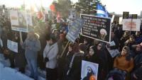 Kanada ve İsviçre'de Suudi rejimi aleyhinde gösteri
