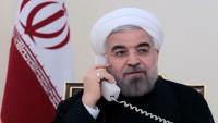 Katar Emiri ve İran Cumhurbaşkanı Ruhani arasında telefon görüşmesi