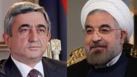 İran ve Ermenistan cumhurbaşkanları arasında telefon görüşmesi