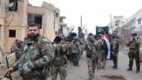 Suriye birlikleri, teröristlerle karşı ilerlemelerine devam ediyor